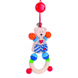 Portico activity Heimess on wheels teddy bear small heart