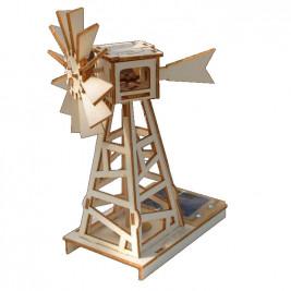 Wind generator from solar field 22 cm Héliobil
