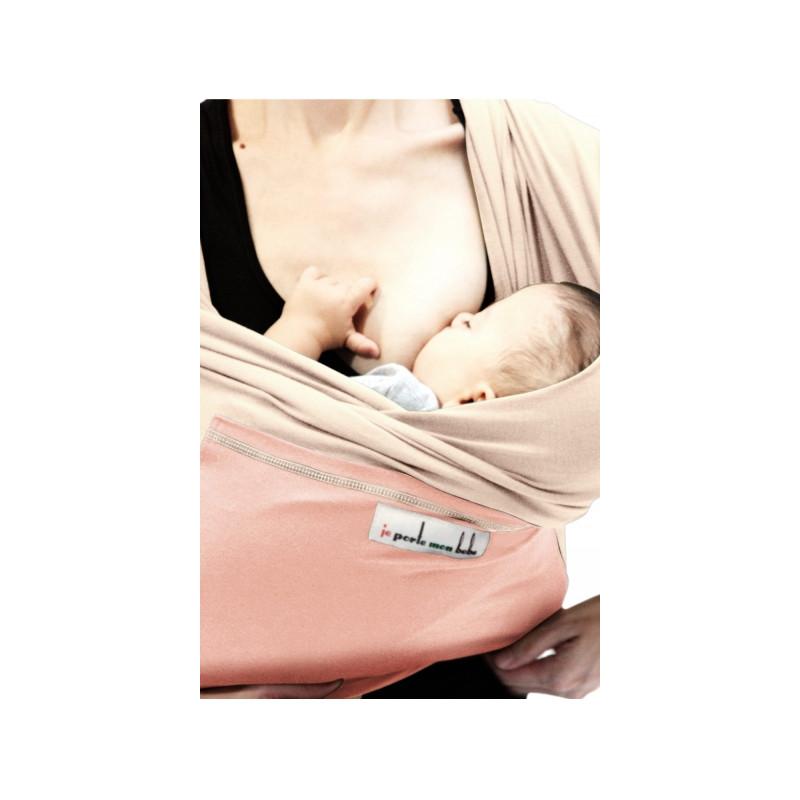221467e4fc38 Love Radius JPMBB Originale Écharpe de Portage Écru Rose Lumière