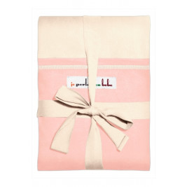 The original JPMBB Baby Wrap Ecru, pocket Light Pink