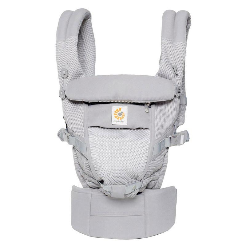f1f3710f3da Baby carrier Ergobaby Adapt Cool Air Mesh Pearl Grey