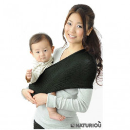 Porte-bébé Sling Wacotto Noir