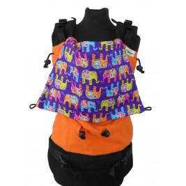 Buzzidil Versatile XL Orange Indian Elephants