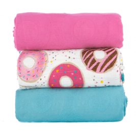 Blanket lot de 3 maxi langes Frosting Tula