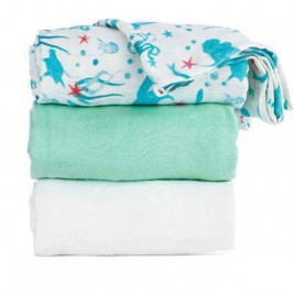 Blanket lot de 3 maxi langes Tula Naida