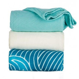 Blanket lot de 3 maxi langes Tula Waves