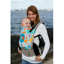 ef902fee0cd2 Message in a Bottle tula baby carrier