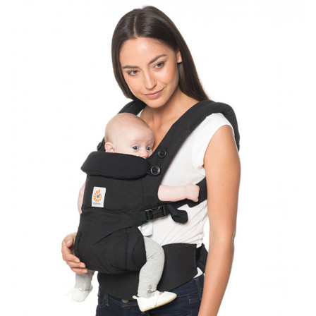Ergobaby Omni 360 Baby Carrier All In One Pure Black