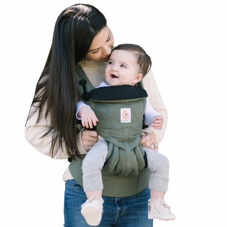 Ergobaby Omni 360 Baby Carrier All In One Khaki Green