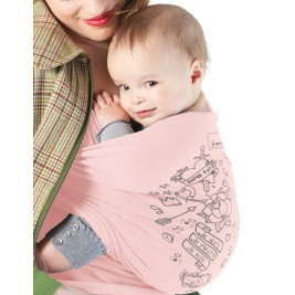 JPMBB Basic Baby Wrap Tatoo Misty Green