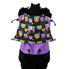 Buzzidil Versatile Standard Funky Owls Purple