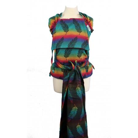 Meï-taï Buzzidil Wrapidil Rainbow Feathers - Naturiou 0dcd81fa62d