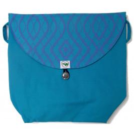 Sac 3-Way-Bag Arabeske Caerula Teal  de Buzzidil