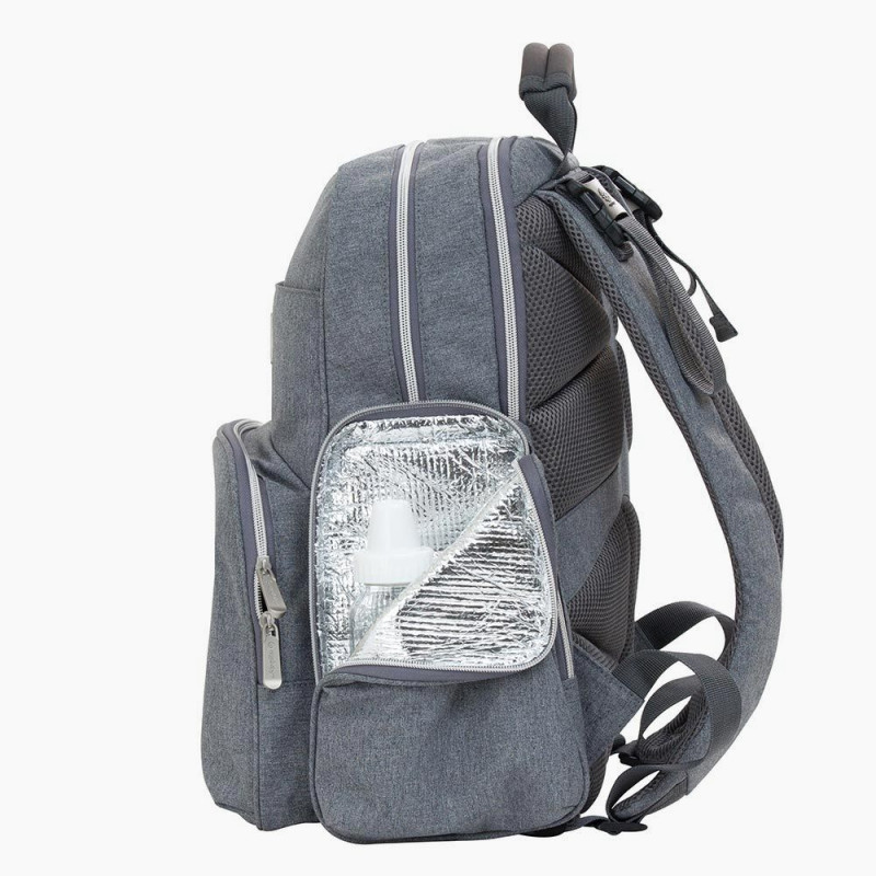 e4f9e9e40e0 ... Diaper bag Ergobaby Anywhere I Go Grey ...