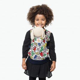 Ergobaby doll carrier Keith Haring Pop