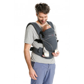 Porte-bébé physiologique Babylonia Flexia Deep Grey
