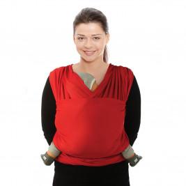 Echarpe de portage Tricot-Slen Cool Red