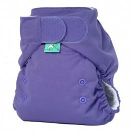 Couche lavable Totsbots TE1 EasyFit rainbow violet à scratch