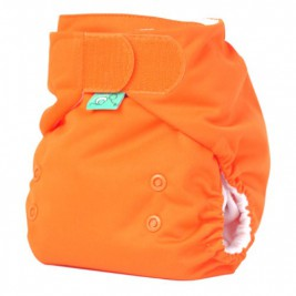 Couche lavable TE1 EasyFit rainbow de Totsbots orange