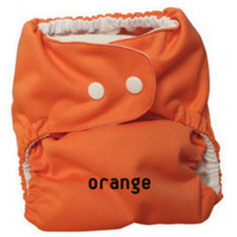 Couche lavable TE1 P'tits Dessous So Easy Orange sans insert