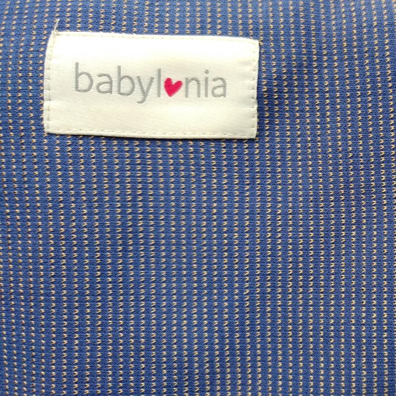 ea23af93ffd8 Echarpe de portage Babylonia Tricot-Slen Design Blue Stripple