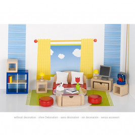 Dolls furniture, living room Goki