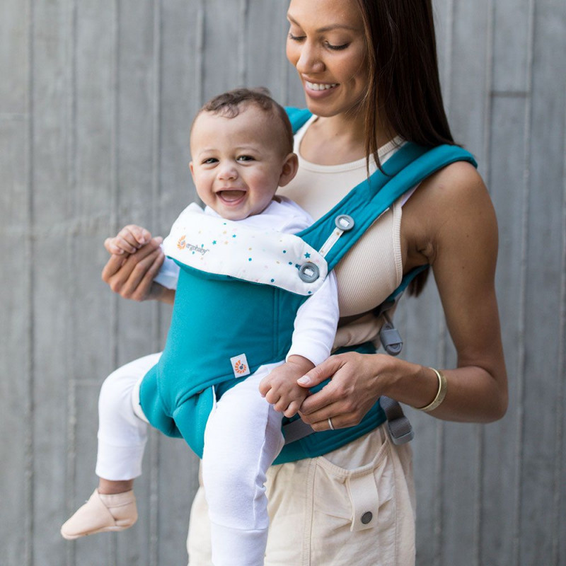 1b53fc8c93f 360 Baby Carrier All Carry Positions Festive Skies - Naturiou