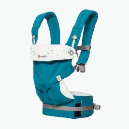 Ergobaby 360 Turquoise - Porte-bébé 4 Positions