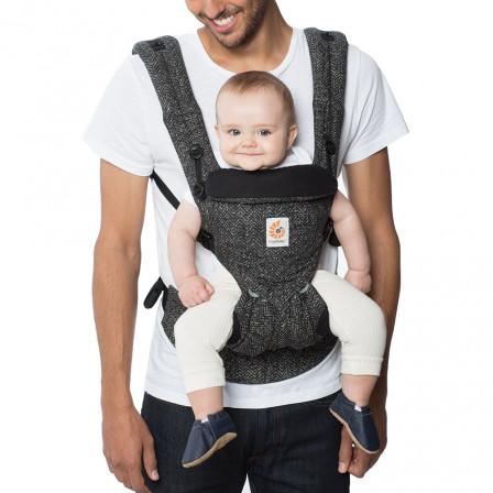 Omni 360 Baby Carrier All In One Herringbone