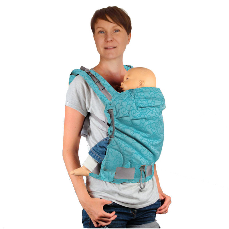 baby carrier physiological cheap P4 ALL in yves Klein Blue