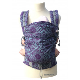 P4 Babysize LLA Jacquard Taiga Violet