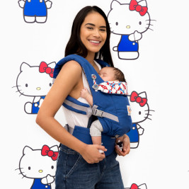 Ergobaby Adapt Hello Kitty Bleu Classic