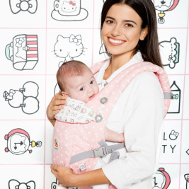 Ergobaby Adapt Hello Kitty Pink Play time
