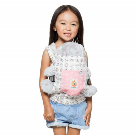 0b5821dd75a7 Ergobaby Porte-Poupée Hello Kitty Rose Play time - Naturiou
