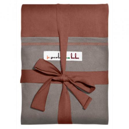 charpe jpmbb rouge sequoia poche gris clair porte b b physiologique. Black Bedroom Furniture Sets. Home Design Ideas
