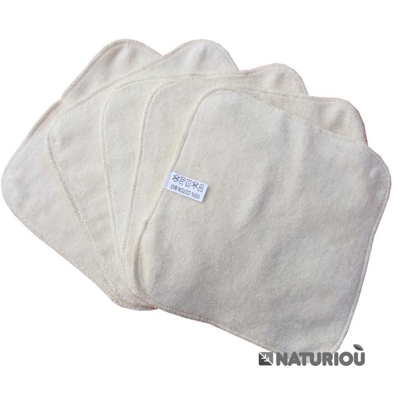 lingettes lavables coton bio p 39 tits dessous b b maison d maquillant. Black Bedroom Furniture Sets. Home Design Ideas