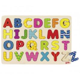 Alphabet Puzzle en bois GOKI