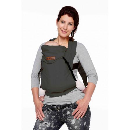 Porte-bébé bykay click carrier gris acier classic 831f6558f47