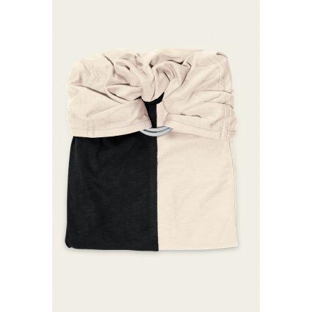 JPMBB Little no-tie Wrap Black - Ecru - Naturiou 8a4b72e3af0