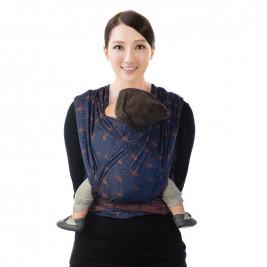 BB-Slen Babylonia Ornate blue wrap woven