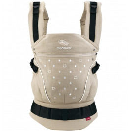 Baby carrier Manduca BellyButton WildCrosses Grey