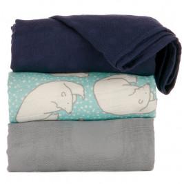 Lot de 3 couvertures Tula Polar Caps
