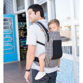 TULA Coast Foxgloves MEsh pannel Toddler carrier