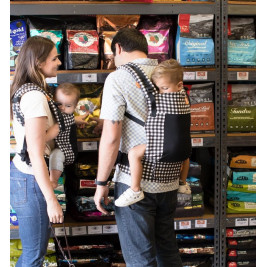 TULA Coast Foxgloves MEsh pannel Toddler carrier