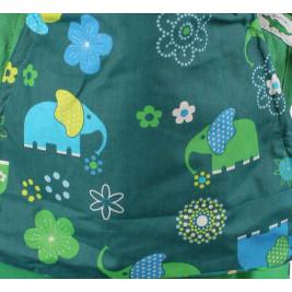 Buzzidil Preschooler Green Elephant