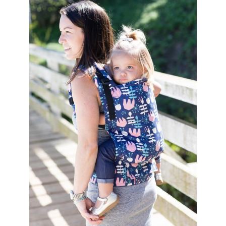 19d243b906b0 Tula Toddler Twilight Tulip - Porte-bambin - Naturiou