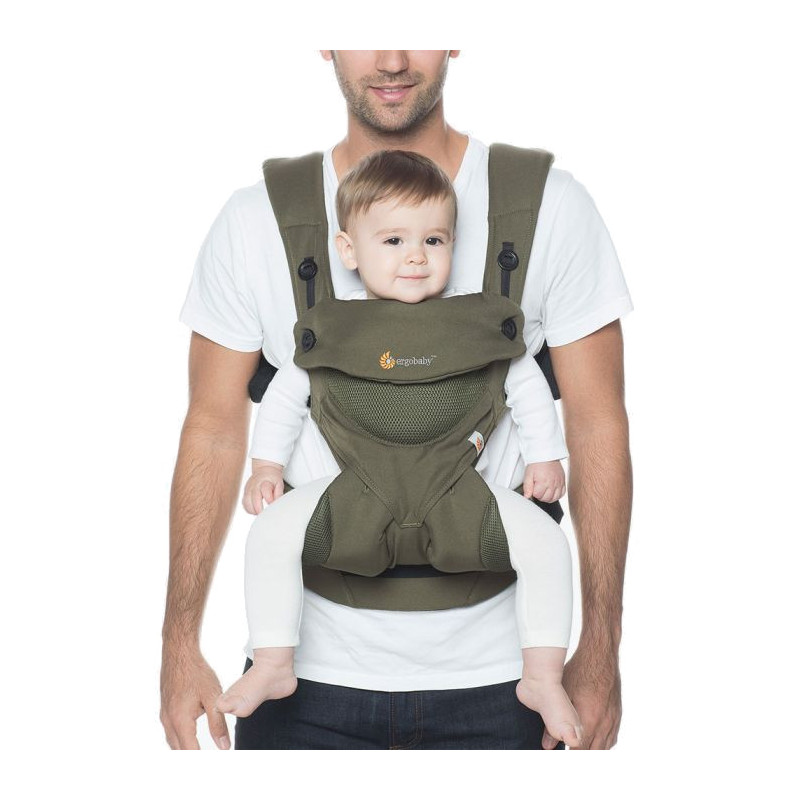 Ergobaby 360 Cool Air Green Khaki Cheaper And Delivered In 24 Hours