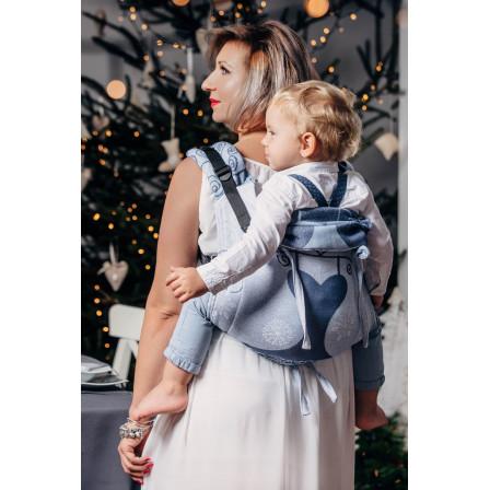 Onbuhimo Toddler Lennylamb jacquard Winter Princessa