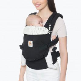 Ergobaby Adapt Noir Rayures - Porte-bébé Évolutif