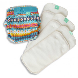 Tots bots Test cloth diapers kit Peenut